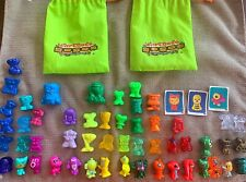 vintage GOGOS Crazy Bones Collection LOT/52 RARE Painted Glitter Metals & Jumbo