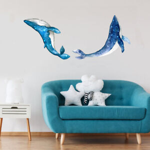 Creative Starry sky whale Wall Sticker home wall decoration living room kidsBP1