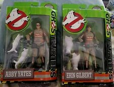 "Ghostbusters 2016 Abby Yates & Erin Gilbert 6"" Action Figures Both are BRAND NEW"