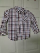 Boy's Janie & Jack Cotton Dress Shirt. Size 4. Striped Shirt. Long Sleeve BF