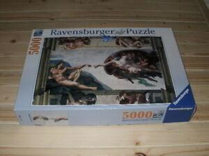 Ravensburger 5000 Piece Jigsaw Puzzle *Michelangelo Creation of Adam*