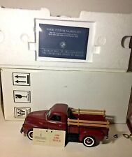 New Listing Franklin Mint 1950 Gmc Pickup truck w/Side Boards & Gear 1:24- Box and Papers