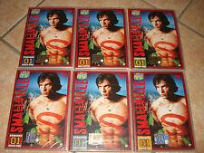 OPERA COMPLETA 6 DVD SMALLVILLE STAGIONE 1 UNO 21 EPISODI