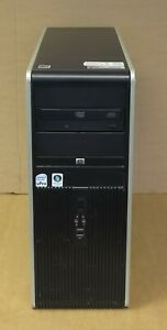 HP Compaq dc7800p Mini Tower PC 1x DC E6550 2.33GHz 4GB Ram DVD ROM DVI Card