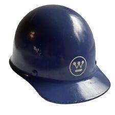 Vtg Fiberglass Hard Hat Msa Skullgard Ansi Z891 1981 Sz M Liner Westinghouse