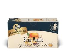 Goldmännchen-TEE 20 JUMBO-Beutel Birne-Vanille 1 JUMBO Beutel für 1 Liter Tee