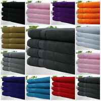 Pack Of 4 Bath Sheet Towels 100% Egyptian Cotton Super Soft Towel 11 Colours!!!