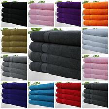 Pack Of 4 Bath Sheet Towels 100% Egyptian Cotton Super Soft Towel 11 Colours !!!