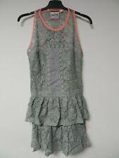Superdry Brushed Odessa Dress Grey Size XS Dh001 JJ 01