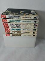Saiyuki Manga 1-3, 5, 7-9 lot of 7