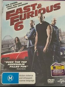 Fast & Furious 6 DVD Like New