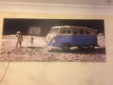 VW Camper foto su tela arte.