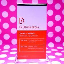 Dr Dennis Gross Ferulic + Retinol Brightening Solution 1OZ SIZE! BOX-AUTHENTIC-