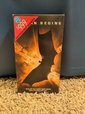 Batman Begins Vhs Tape 2005 Rare - Limited Number Produced Not Sealed