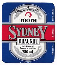 Dawn Fraser - Olympic Swimming Legend - Hand Signed Beer Label - Sydney Draught