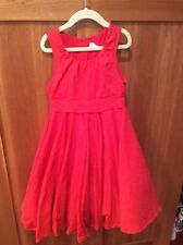 Jottum SARISONU Red dress size 122/128 - 7/8 yrs Excellent condition