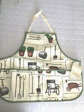 "New listing 21""x20"" Cloth Multi Function Apron Garden Tool Apron Home Garden - Women"