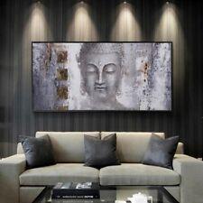 toile tableaux bouddha  40x80 cm
