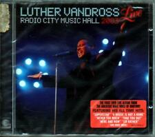 VANDROSS LUTHER RADIO CITY MUSIC HALL 2003 LIVE CD SEALED