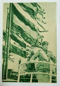 Cartolina - Fiera del Levante Bari - Mussolini - Duce - Viaggiata 1935