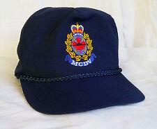 MCDV HMCS Nanaimo Hat Royal Canadian Navy Military Maritime Ship Snapback Cap