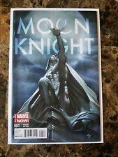 Moon Knight #1 (2014) HTF 1:50 Adi Granov Incentive Variant Marvel Comics