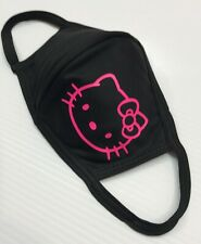 Face mask DRI-FIT 100% polyester, double layer, washable,  (Hello Kitty Face)