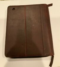 Gun Tote'n mamas Ipad leather case (Brown Leather)