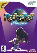 Rock 'N' Roll Adventures Nintendo Wii * NEW SEALED PAL *