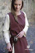 Mittelalter Überkleid Wikinger Gewand Larp - Braun