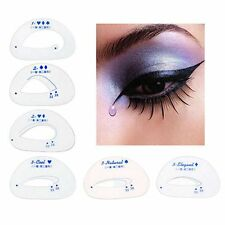 Smokey Cosmetic Eyeliner Stencil Model Eye Shadow Template Shaper Makeup Tool