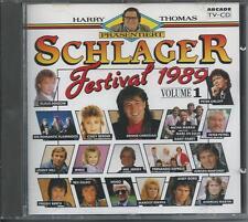 V/A - SCHLAGER FESTIVAL 1989 VOLUME 1 CD 19TR (ARCADE) CINDY BERGER, ANDY BORG
