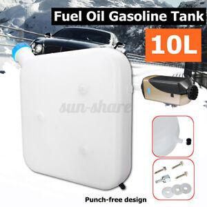 10L Plastic Oil Gasoline Tank for Car Truck Air Diesel Parking Heater Tool USA
