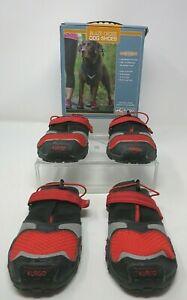 Kurgo Blaze Cross Dog Shoes SZ LG Paw Protectors Reflective No Slip Set of 4 NIB