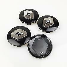 GENUINE BRAND NEW WHEEL HUB CAP 57mm BLACK 4EA SET SUITS RENAULT KOLEOS