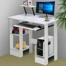 Corner Small Computer Desk Shelves Laptop PC Table Home Office Executive Desktop
