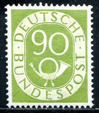 BUND 1951 138 ** POSTFRISCH POSTHORN TADELOS 550€(Z0779