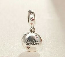 SILVER FOREVER SISTERS SISTER DANGLE  CHARM GENUINE BARGAIN SALE PRICE !