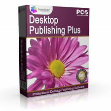 Windows CD Desktop Publishing (DTP) Computer Software