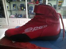 SCARPE KART SPARCO STIVALETTO IN PELLE TG 39-41-42-45  KARTING BOOTS SCHUHE