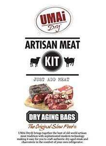 UMAi Dry Ribeye Striploin Sized | Dry Age Bags for Meat | Breathable Membrane Ba