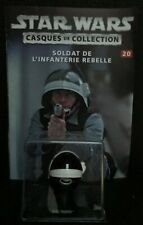 "Casque de collection Star Wars n°20 ""Rebel Trooper"" (Editions Altaya) (GW)"