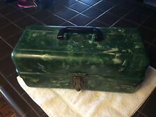 Vintage Fishing Tackle Box Plano Marbleized Bakelite
