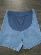 In Due Time Maternity Jean Shorts SZ 10.   U9