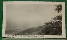 1937 VINTAGE OLD ANDES MOUNTAINS SOUTH AMERICA ST THOMAS S.S. ROTTERDAM PHOTO