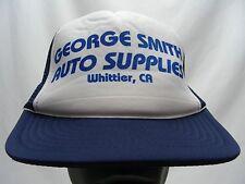 GEORGE SMITH AUTO SUPPLIES - WHITTIER,CA - SNAPBACK BALL CAP HAT!
