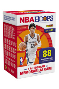 2020/21 NBA Hoops Panini Trading Cards - Packets, Blaster Box, Lots FREE Ship