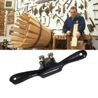 "9"" Metal Woodworking Blade Spoke Shave Manual Planer Plane Deburring Hand Kit"