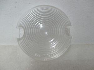 Mopar NOS 1958 DeSoto Chrysler Front Left or Right Hand Park Lamp Lens 1832048