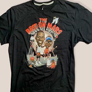 NIKE AIR JORDAN Spike Lee THE BEST ON MARS Black T-shirt XL RETRO III 3 NWT